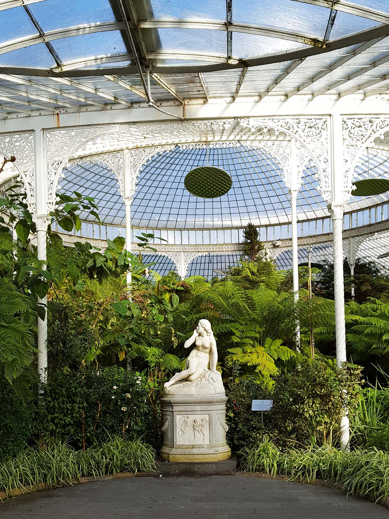 Finding inspiration at the Kibble Palace, Glasgow