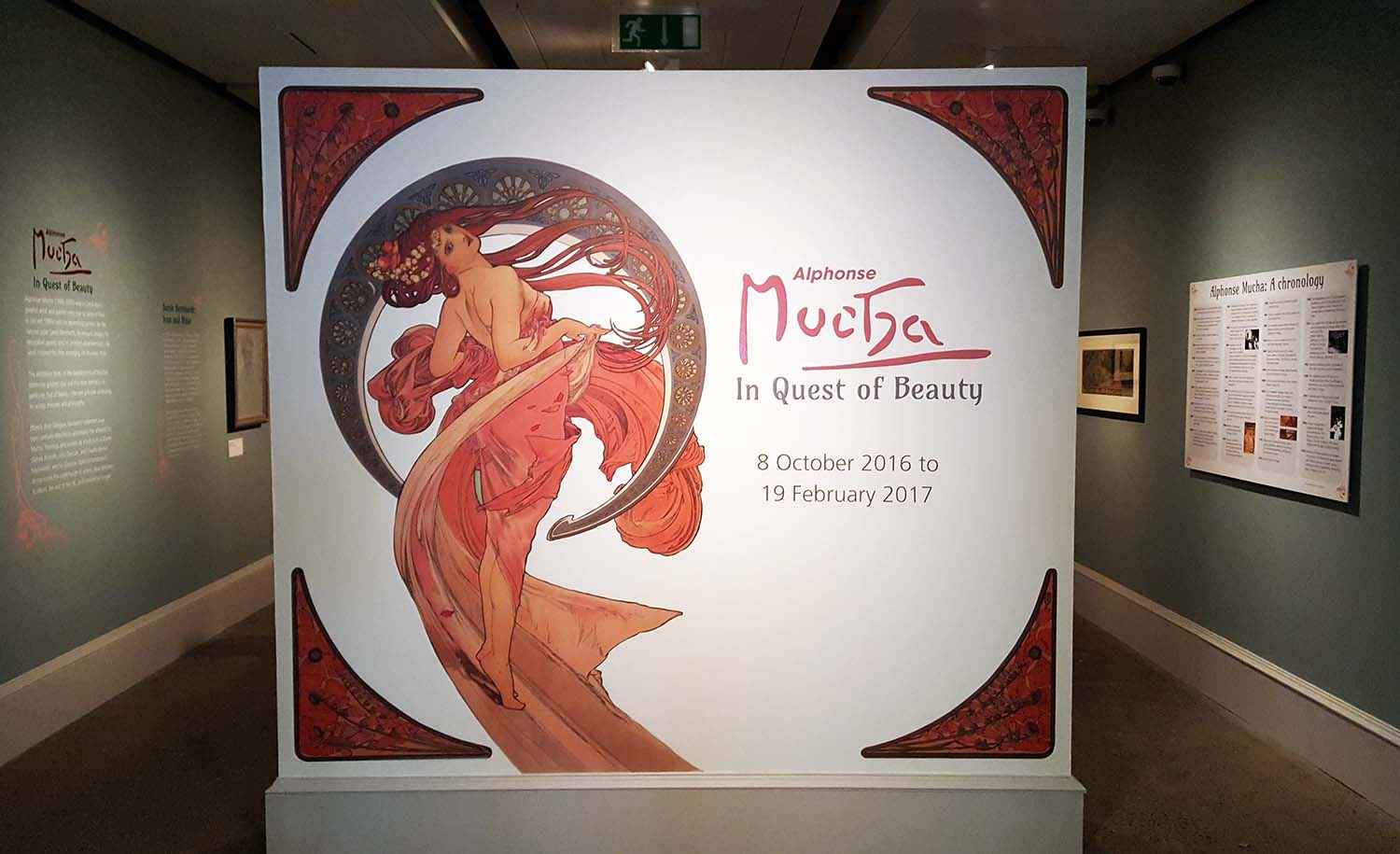Alphonse Mucha exhibition, Kelvingrove Art Gallery Autumn 2016