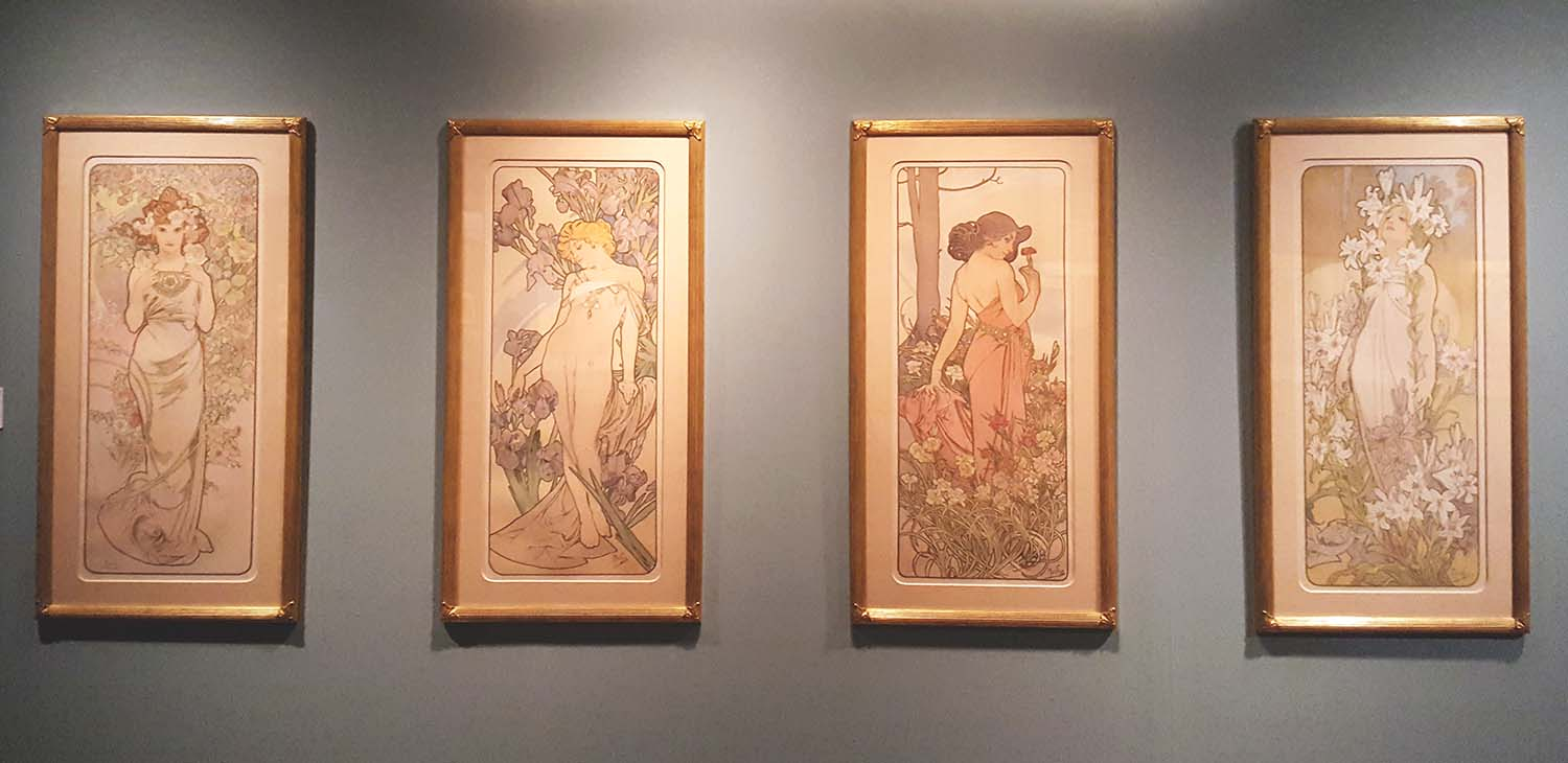Alphonse Mucha 'In Quest of Beauty' exhibition, Autumn 2016