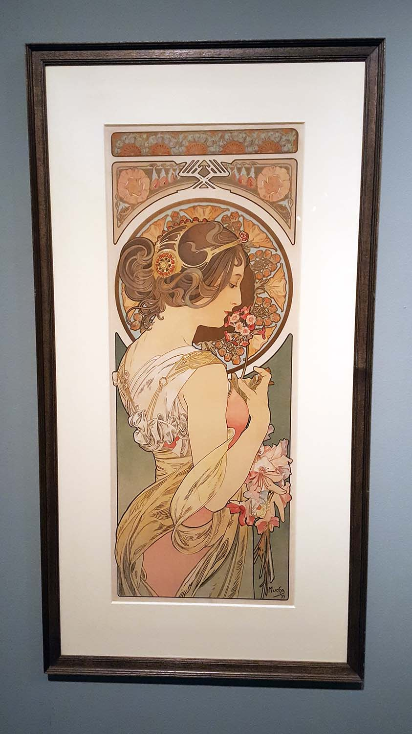 Alphonse Mucha 'In Quest of Beauty' exhibition, Autumn 2016Alphonse Mucha 'In Quest of Beauty' exhibition, Autumn 2016