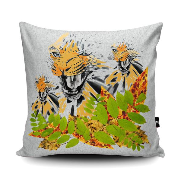 'Fierce Leopard' Pattern Design in the Wraptious Cushion Competition