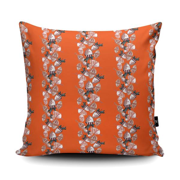 'Squirrel's Wardrobe' Pattern Design in the Wraptious Cushion Competition