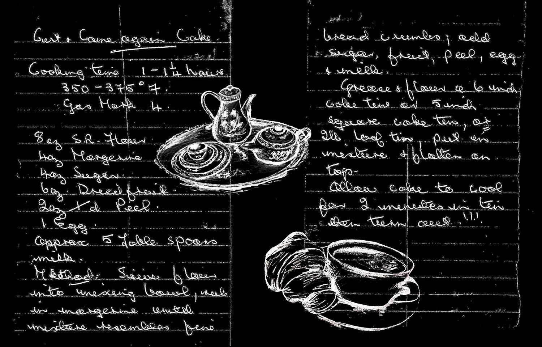 Heirloom Tea Towel Tutorial - Cut & Come Again Cake