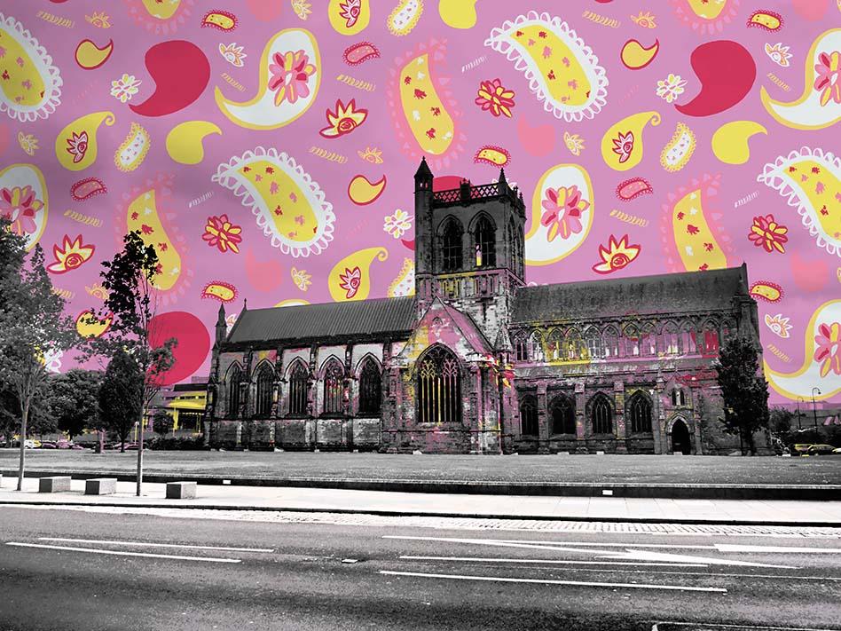 PaisleyMake Maker's Market - Pattern Bomb Paisley Abbey