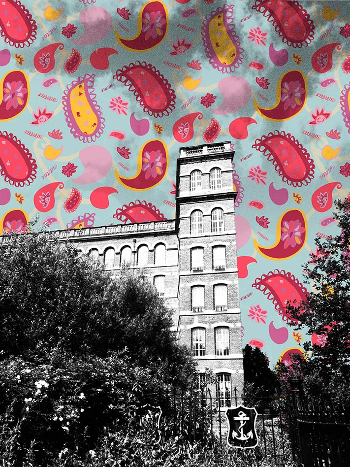 PaisleyMake Maker's Market - 'Pattern Bomb' Old Coat's Mill Tower