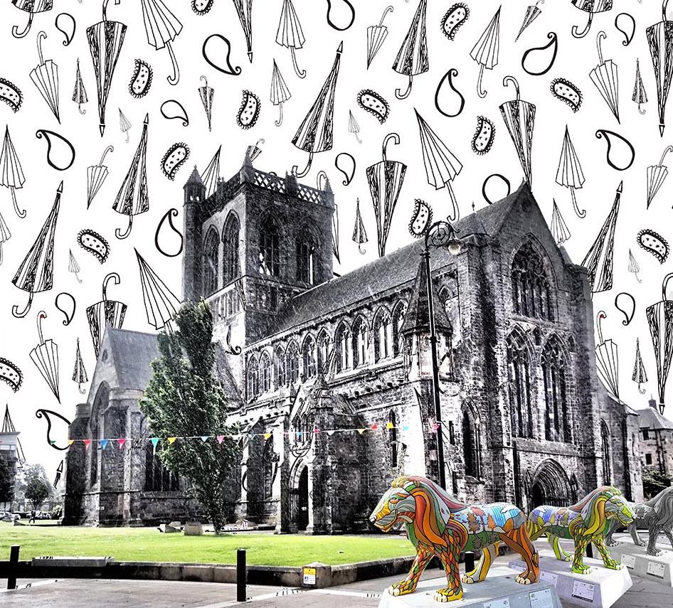 Dainty Dora Pattern Bomb Print, Paisley Abbey