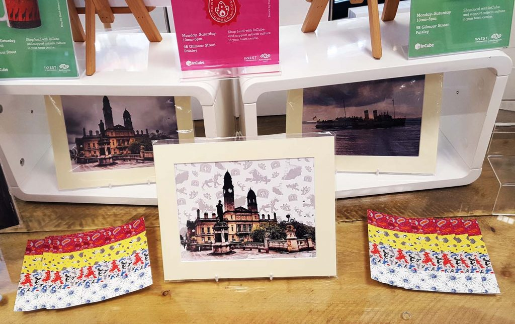Dainty Dora Pattern Bomb Prints, InCube Shop, Paisley