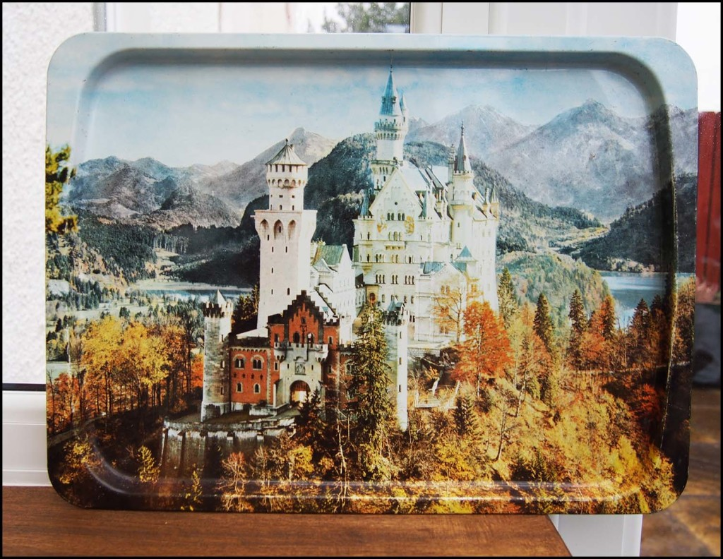 Bavarian Castle Tray