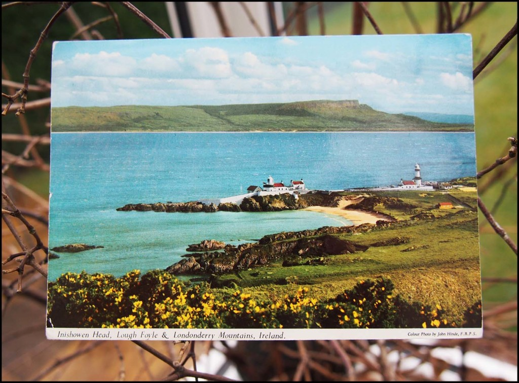 Vintage postcard from Ireland