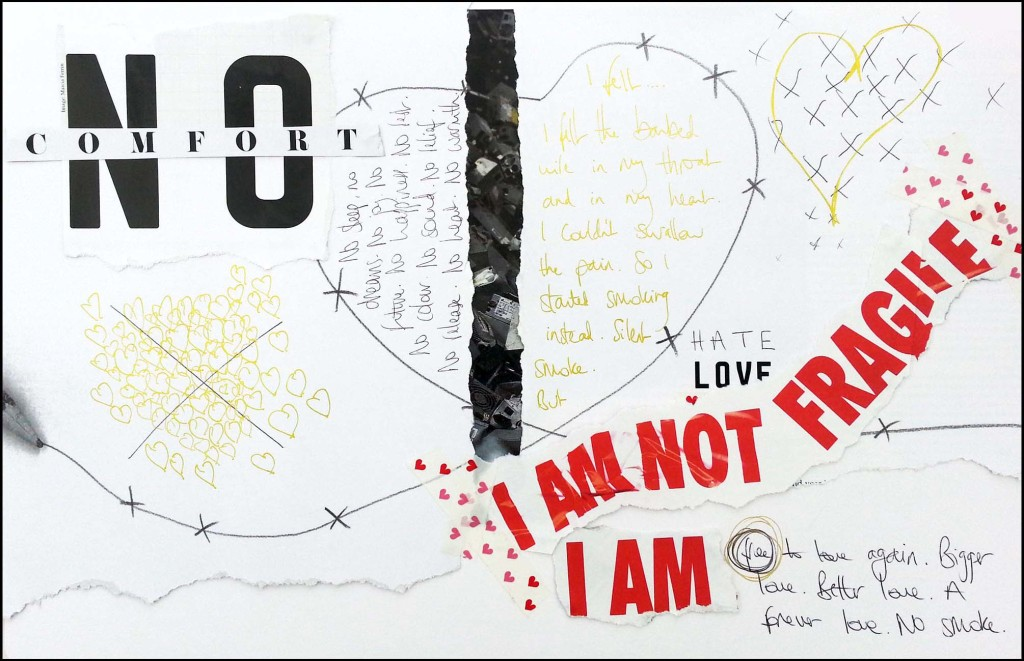 Art Journaling - LOVE