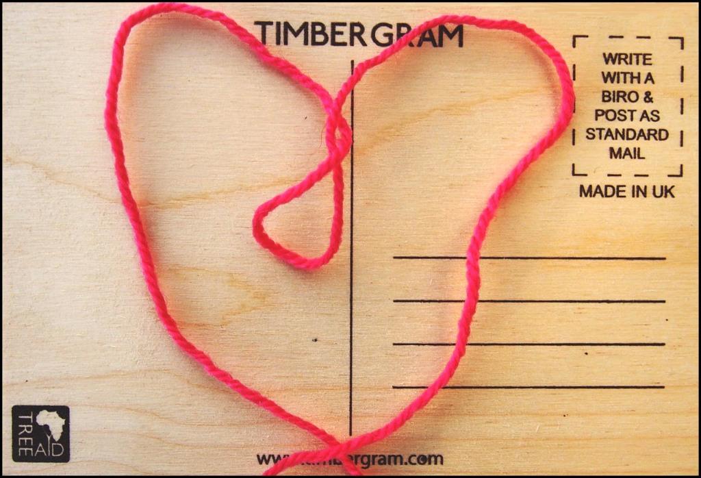 Heart Print Timbergram