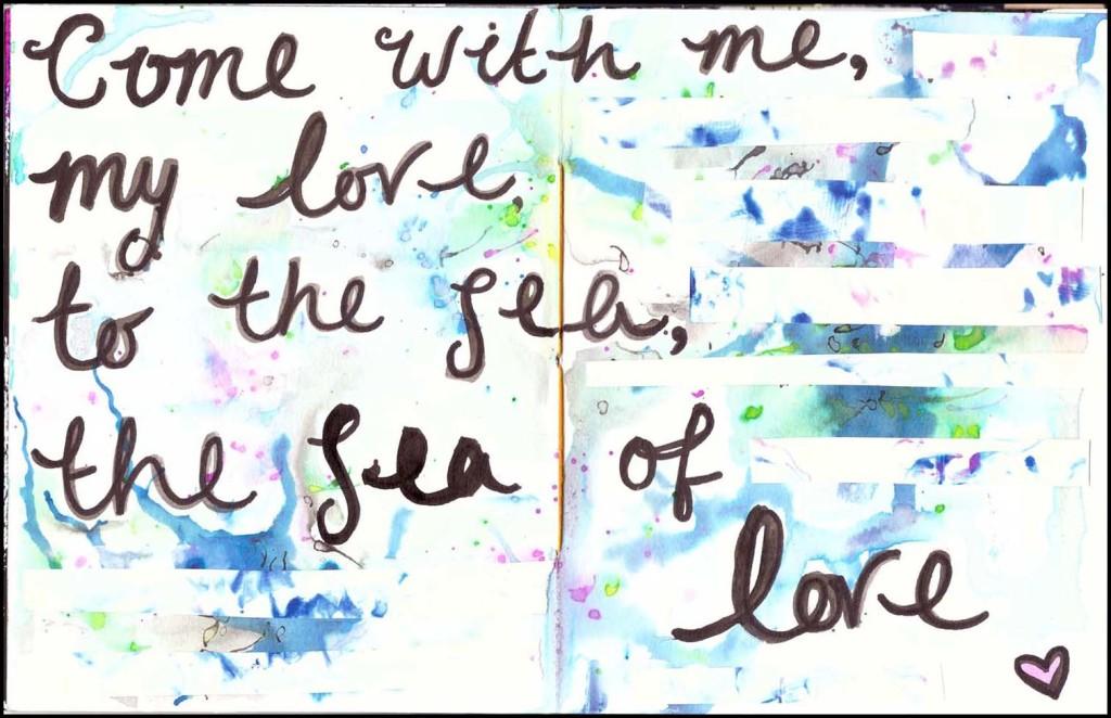 'Vitamin Sea' collaboration ZINE - Sea of Love