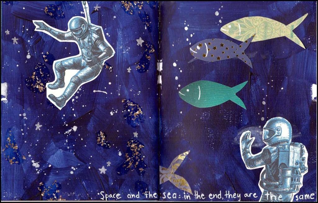 'Vitamin Sea' collaboration ZINE - Diver