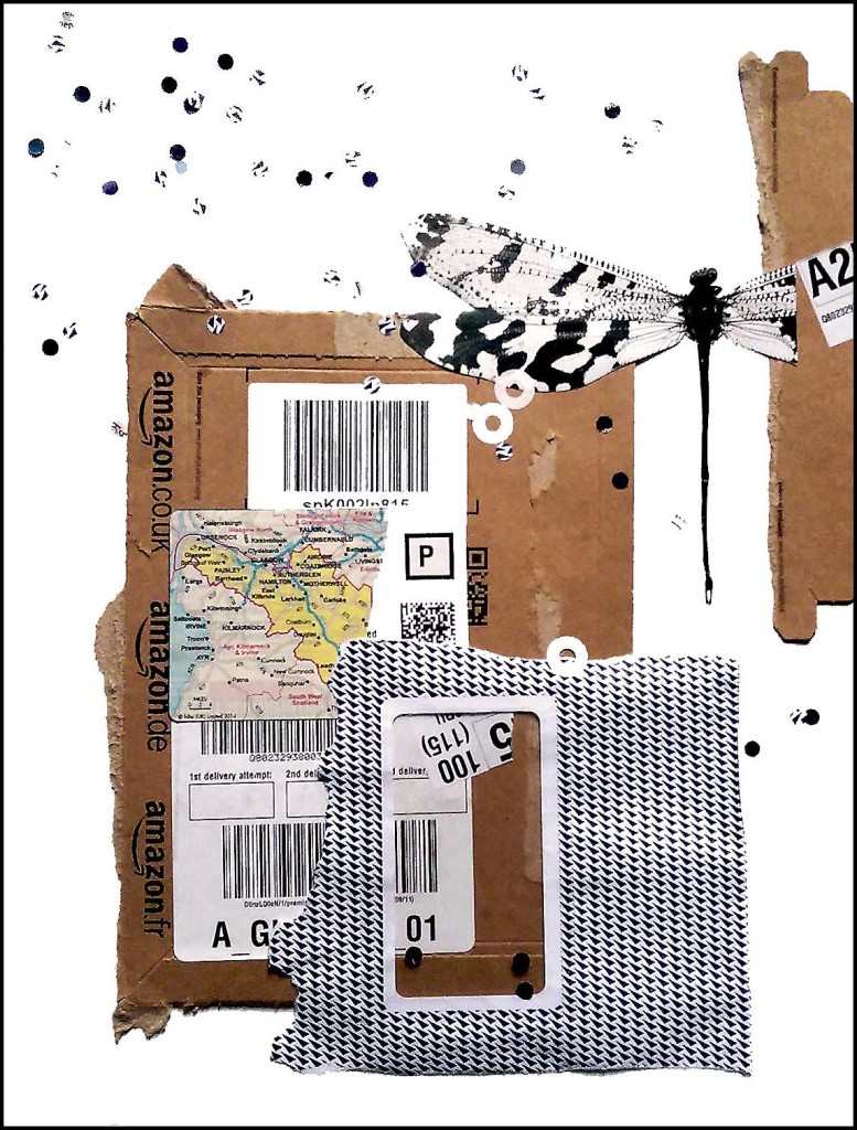 Junk Mail Collage